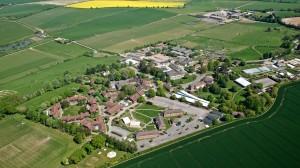 sparsholt aeriel view