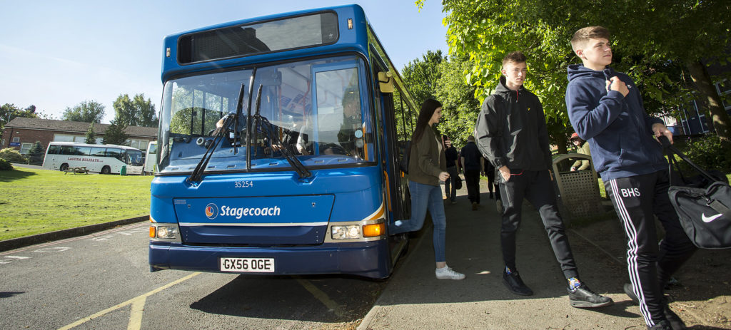 Transport - Sparsholt College Hampshire