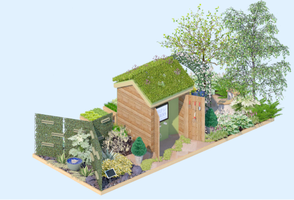 The Force for Good RHS Chelsea garden
