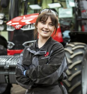 Grace - Student Profile Agricultural Engineering 2019